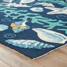 animal dark blue green area rug