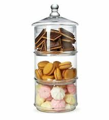 mygift 3 tier stacking apothecary jars