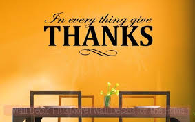 in everything give thanks vinyl lettering decals fall quotes home