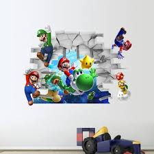 Super Mario Wall Stickers For Kids Room Pvc Wall Decal Diy Game Wall Art Bedroom Home Decor Cartoon Adesivo De Parede Buy Super Mario Wall Stickers Wall Stickers For Kids Pvc Wall Decal