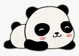 panda sticker kawaii cute an
