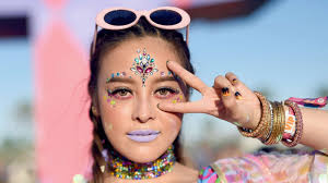 25 fun festival makeup looks to add on