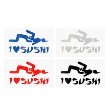 Sporting Goods Skateboarding Longboarding Stickers Decals I Love Sushi Sticker Car Window Truck Door Bumper Vinyl Funny Motorcycle Decal Duansungroup Com Vn