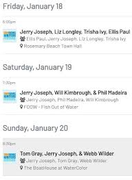 Jerry Joseph - Jerry will perform at the 10th Annual 30A... | Facebook