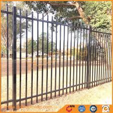 China Steel Crowd Control Barricades Portable Garden Fence Panel China Garden Fence Fence
