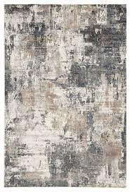 sisario abstract gray gold area rug