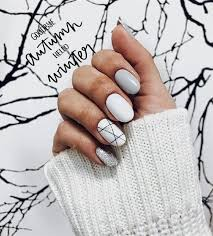 Pin by Addie West on Unhas/Nailart | Winter nails, Nail designs, Winter  nail designs