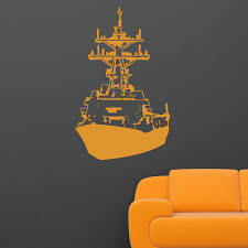 Ship Boat Wall Sticker Decal World Of Wall Stickers