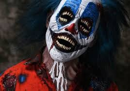 scared of clowns these makeup effects