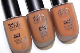 water blend foundation review amber