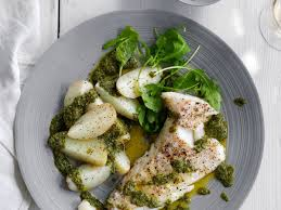 Catfish and Potatoes with Salsa Verde ...