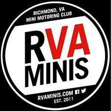 Rva Minis Club Red Vinyl Sticker Decal