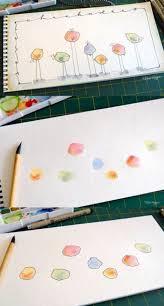 Creatief Met Verf En Fineliner Dibujos Faciles Arte Para Ninos