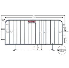 Rent A Fence Barricade Rentals Barricades Events