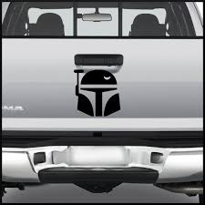 Boba Fett Decal Star Wars Sticker For Car Truck Window Laptop Anywhere Star Wars Stickers Custom Car Stickers Car Stickers