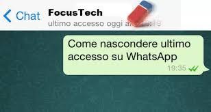 WhatsApp: come entrare senza far aggiornare l'orario dell'ultimo ...
