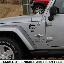 8 Universal Punisher American Flag Alphavinyl