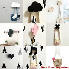 2020 Wooden Anchor Kids Room Wall Sticker Decoration Clothing Hanger Children Birthday Gift Hook Nordic Cactus Wall Clothes Hooks From Hymen 21 3 Dhgate Com