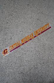 Flying C Central Michigan University Alumni Decal Approx 16x2 The Cmu Bookstore