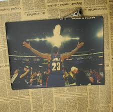 Vintage Paper Retro Poster Lebron James Nba Posters Cudi Postervintage Home Wall Sticker With Free Shipping Worldwide Weposters Com