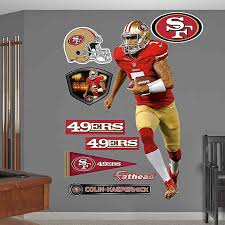 Fathead Nfl San Francisco 49ers Colin Kaepernick Home Wall Graphic Bed Bath Beyond