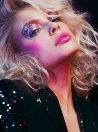 disco makeup look