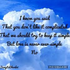 1D Lyrics Art - Clouds - One Direction ...