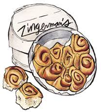 cinnamon roll gift box