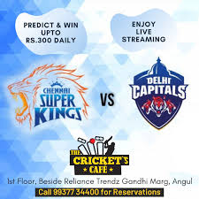 Enjoy CSK vs DC Live Streaming Whatsaap ...