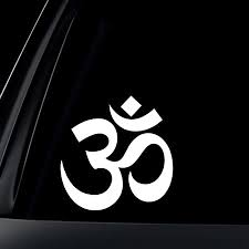Amazon Com World Design Om Ohm Symbol Car Decal Sticker Automotive
