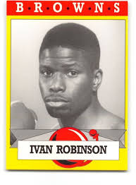 Ivan Robinson 1993 Brown's Boxing Card (Rookie)