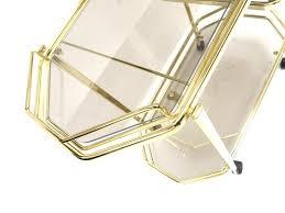 vintage hollywood regency style glass