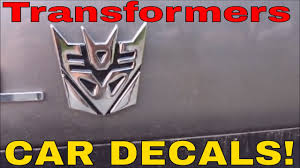 Transformers Automobile Decals Gotbot True Review Number 303 Youtube