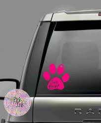 Fur Mama Decal Fur Mama Car Decal Car Decal Sticker Car Sticker Car Decal