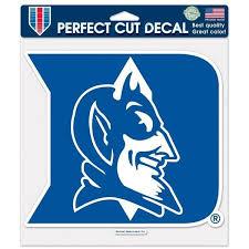 Duke Blue Devils 8 X8 Decal Color Logo Wall Vinyl Sticker Duke Blue Devils