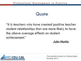 """quote """"it is teachers who have created positive teacher student"""