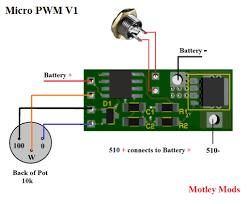 wire diagram pwm vape mods box diy