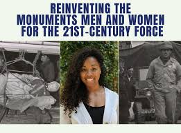 FSU Department of Art History | Doctoral Student Sonia Dixon Among New  Monuments Men and Women Force