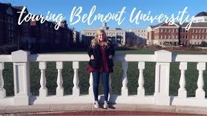 TOURING BELMONT UNIVERSITY VLOG - YouTube