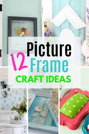 12 creative picture frame craft ideas