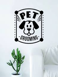 Pet Grooming Decal Sticker Wall Vinyl Art Home Room Decor Decoration A Boop Decals
