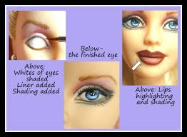 how to repaint barbies and other dolls