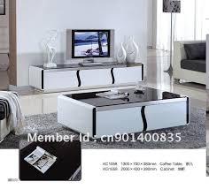tv stand with coffee table modern style