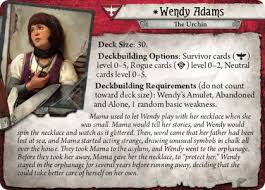 Wendy Adams - Core Set - Arkham Horror: The Card Game - Arkham ...