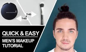 easy makeup tutorial for guys men s