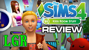 Lgr The Sims 4 Kids Room Stuff Review Youtube