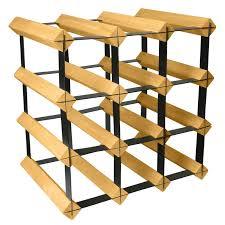 12 bottle wine rack wooden wine rack