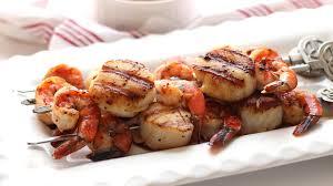 Shrimp & Sea Scallop Kabobs