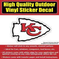 Kansas City Chiefs Football Vinyl Car Window Laptop Bumper Sticker Dec Colorado Sticker