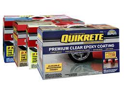 quikrete garage floor kit at